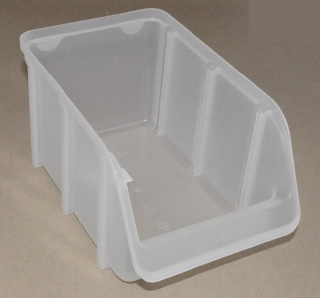 sichtbox pp gr 3 1 st ck transparent sichtlagerboxen 18430. Black Bedroom Furniture Sets. Home Design Ideas
